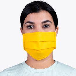 Máscara Reutilizável Nível 2 Amarela