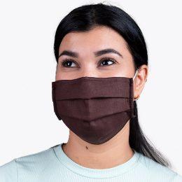 Máscara Reutilizável Nível 2 Castanha