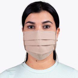 Máscara Reutilizável Nível 2 Castanho Claro