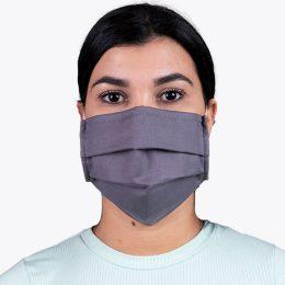 Máscara Reutilizável Nível 2 Cinzenta