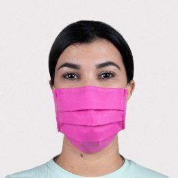 Máscara Reutilizável Nível 2 Rosa