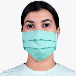 Máscara Reutilizável Nível 2 Verde Água