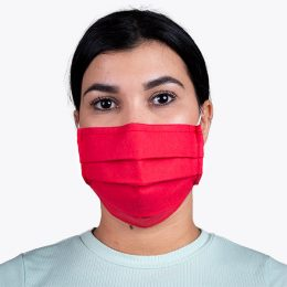 Máscara Reutilizável Nível 2 Vermelha